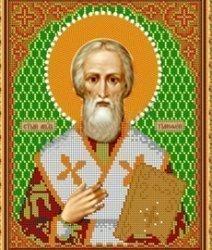 Рисунок на ткани для вышивания бисером Бис 813 «Св. Тимофей»