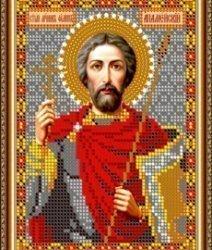 Pисунок на ткани для вышивания бисером 829М «Св.Никон Радонежский»