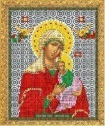 """Рисунок на ткани для вышивания бисером Бис 325 """"Страстный образ Пресвятой Богородицы"""""""