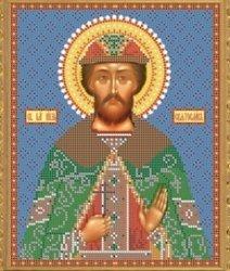 """Рисунок на ткани для вышивания бисером Бис 776 """"Святой Святослав"""""""