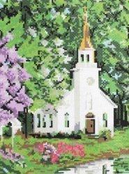 """Набор для вышивания И02 """"Церквушка"""""""