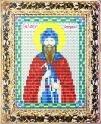 """Набор для вышивания бисером ВБ-241 """"Икона Св. Давида Серпуховского"""""""